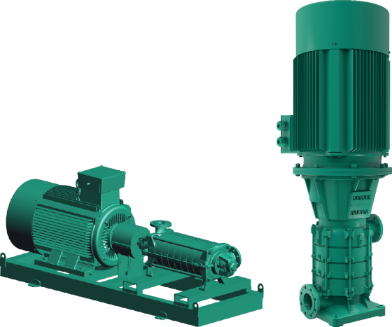 Vertical and horizontal, multistage centrifugal pumps – Wilo-Zeox FIRST H Wilo-Zeox FIRST V